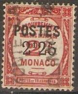 Monaco - 1937 Postage Due Surcharge SG 161 - Monaco