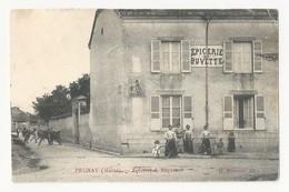 51 PRUNAY - épicerie Et Buvette - Belle Animation - Cpa Marne - Autres Communes