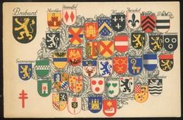 "1935  ""Carte Postale""  ""Antituberculeux""  Province : Brabant - Stamped Stationery"
