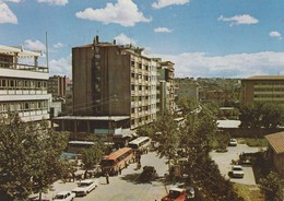 [Building-Architecture / View] - Postcards - Turkey / Gaziantep - 1970/80: A View From The City. Old Buses And Cars. * - Turkey