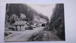 Carte Postale ( O9 ) Ancienne Le Col De Bussang , Coté Français - Col De Bussang