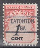 USA Precancel Vorausentwertung Preo, Locals Georgia, Eatonton 841 - Vereinigte Staaten