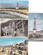 T.B.LOT DE 200 CPSM FRANCE.P.F.COULEUR ET N.ET B.ANNEES 50-60-70.T.T.B.ETAT.PAS PARIS-LOURDES-VERSAILLES.PORT : 8.00E - Postcards