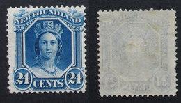 Terre Neuve  NEWFOUNDLAND 1866-1871 Yver 26 24 C - Grande-Bretagne (ex-colonies & Protectorats)