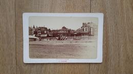 PHOTO CDV 19 EME SIECLE - TROUVILLE 14 CALVADOS -  LE CASINO - NORMANDIE - Anciennes (Av. 1900)