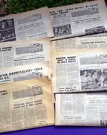 8 Journaux SCOUT- MARATHON COURIER (en Anglais)  AOUT 1963- OUVERTURE, DEROULEMENT Et CLOTURE N° 11 à 18 JAMBOREE Photos - Scoutisme