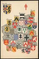"1935  ""Carte Postale""  ""Antituberculeux""  Province : West Valnderen - Stamped Stationery"