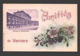 Verviers - Amitiés De Verviers - Athenée Et Bibliothèque - Verviers