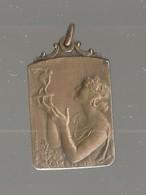Pendentif Bronze Par P Theunis 1924 - Bijoux & Horlogerie