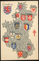 """1935  """"Carte Postale""""  """"Antituberculeux""""  Province : Luxembourg - Stamped Stationery"""