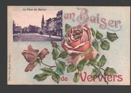 Verviers - Un Baiser De Verviers - La Place Du Martyr - Verviers