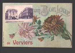 Verviers - Un Bonjour De Verviers - Fontaine Ortmans-Hauzeur - Verviers