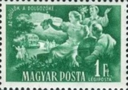 USED  STAMPS Hungary - The Conclusion Of The Five Years Plan -1951 - Hungary