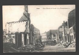 Visé - Rue Haute Et Local La Renaissance - Guerre - Visé