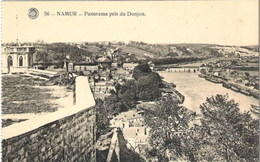 NAMUR - Panorama Pris Du Donjon - Namur