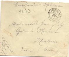 Corr. D'armées 1915 *Alexandrie Fr * - Egypte - Guerre 1914 - Poststempel (Briefe)