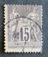 FRANCE - 1876 - 66 - SAGE - 1876-1878 Sage (Type I)