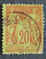 FRANCE - 1878 - 96 - SAGE - 1876-1878 Sage (Type I)