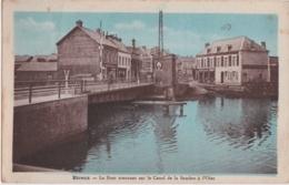 Bt - Cpa Etreux (Aisne) - Le Pont Tournant Sur Le Canal De La Sambre à L'Oise - France