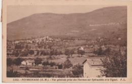 Bt - Cpa PEYMEINADE (Alpes Maritimes) - Vue Génrale Prise Des Thermes Sur Spéracédès Et Le Tignet - France