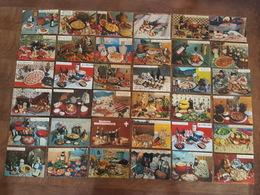 Lot De 56 CP - Recettes De Cuisine Par Emilie Bernard - Edition Lyna, Cuisine De Corse, Bretagne, Normandie, Savoie Jura - Recettes (cuisine)