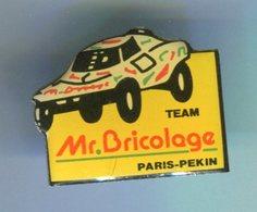 Pin's - Rallye PARIS PEKIN Mr Bricolage - Rallye