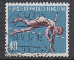 Liechtenstein 1955 Sport III Stabhochsprung 1v Used (42184A) - Liechtenstein