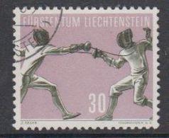 Liechtenstein 1958 Sport V Fechten 1v Used (42184B) - Liechtenstein