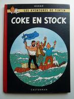 Tintin, Coke En Stock, EO Belge Edition Casterman Couleur 1958, B24 En TBE++ - Tintin