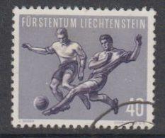 Liechtenstein 1954 Sport I Fussball / Verteidiger 1v Used (42184D) - Liechtenstein