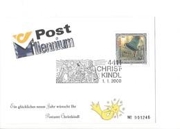 21632 - Austria Christkindl 2000 Post Millennium 01.01.2000 N°001246 Sur Feuille - Natale