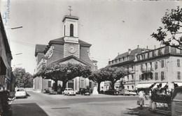 Carouge - L'église Catholique - Voitures - GE Ginevra
