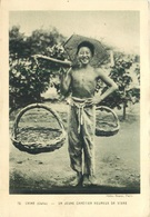 CHINE (CHEFOO) UN JEUNE CHRETIEN HEUREUX DE VIVRE ~ AN OLD PHOTO POSTCARD #92110 - Asia