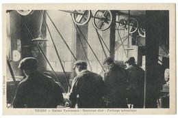 THIERS (63) Usines VAUCANSON - NAVARRON Aîné - Fraisage Mécanique - Coutellerie , Manches De Couteaux - Thiers
