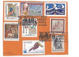 21633 - Austria Christkindl 2000  12.12.2000 Sur Feuille - Noël