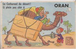 CPA  A SYSTEME BOZZ    VUES DEPLIANTES  ORAN  ALGERIE - Oran