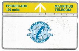 @+ Ile Maurice - LG 120 Units - Logo Bande Jaune - 407A.... - Mauritius