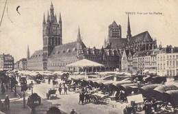 Ieper, Ypres, Vue Sur Les Halles (pk57028) - Ieper