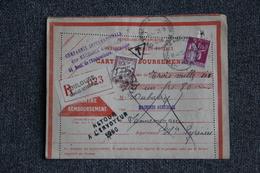 Timbre Seul Lettre Recommandée Taxée Sur Lettre Avec Retour à L'envoyeur  De TOULOUSE (31) Vers LANNEMEZAN (65)  - N°289 - Marcophilie (Lettres)