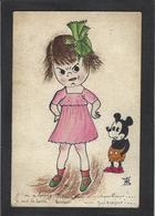 CPA Disney Walt Dessin Original écrite - Altri