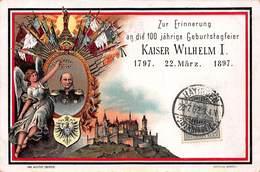 CPA KAISER WILHEM I - 1791. 22 März . 1897 - Germany
