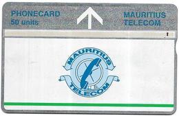 @+ Ile Maurice - LG 50 Units - Logo Bande Verte - 709D.... - Mauritius