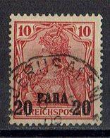 Türkei 1900/1904 // Mi. 13 I O - Deutsche Post In Der Türkei