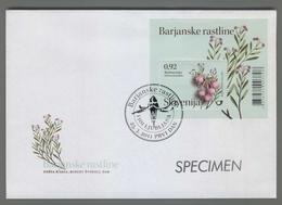 C4443 SLOVENIA FDC 2011 FLOWERS BARJANSKE RASTLINE ROZMARINKA 0.92 Piante E Fiori - Slovenia