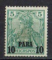 Türkei 1900/1904 // Mi. 12 II * - Deutsche Post In Der Türkei