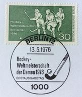 HOCKEY  WELTMEISTERSCHAFT DER DAMEN  1976   BERLIN 12   13/5/1976  ERSTTAGSBLATT  4/1976 - Francobolli
