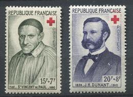 France 1958 - N° 1187 & 1188 - Au Profit De La Croix Rouge - Neufs - ** - France