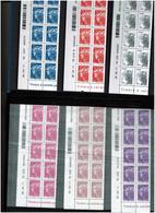 FRANCE / N° 4565-4571 / Sous Faciale / Coins Datés Par 10 Exemplaires Neufs** - 2010-....