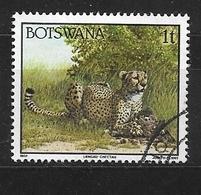 BOTSWANA   1992 Animals     Used    Acinonyx Jubatus - Botswana (1966-...)