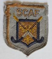 Rare Ancien écusson Brodé SCAF Hockey Club D'Activités Subaquatiques De Franconville - Sports